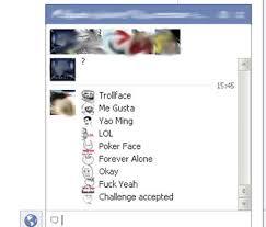 Facebook Chat Meme Faces - meme emoticons para facebook actualizado info taringa