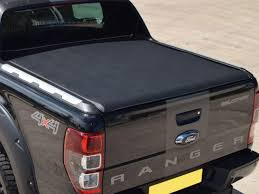Ford Ranger Truck Bed - ford ranger wildtrak mk5 2012 on double cab roll up soft tonneau