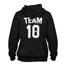 team 10 fanjoy