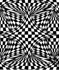 op art illusion optique sky amethyst op art coloring pages for