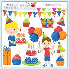 birthday boy birthday boy digital clipart for commercial or personal use