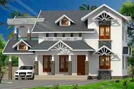 Home Design Double Story 2244 Sqft 4bhk Double Storey Home Design