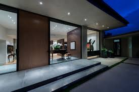 modern house entrance modern beverly hills home with gorgeous views form u0026 frame
