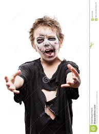 zombie halloween costume child screaming walking dead zombie child boy halloween horror costume
