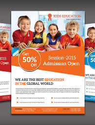 brochure design templates for education free educational flyer templates 15 best academic flyer templates