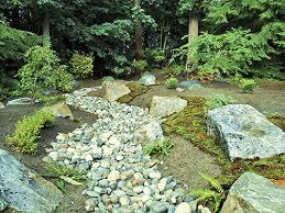 elegant garden rocks and stones japanese zen rock garden rock