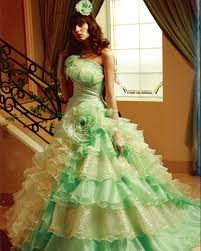 green wedding dresses green wedding dress