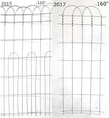 decorative wire loop fencing 20 ft roll x 50 single loop