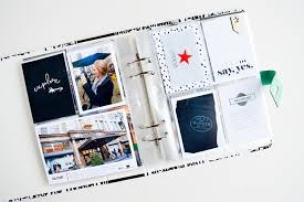 travel photo album images Nyc travel mini album amy challis sahlin studio digital jpg
