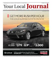 lexus quebec emploi your local journal july 14th 2016 by your local journal issuu