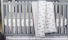 Cloud Crib Bedding Gender Neutral Baby Bedding Crib Bedding Sets For Boys Or