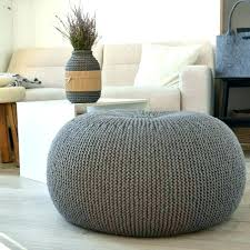 knitted pouf ottoman target pouf knitted ottoman gray knitted pouf ottoman express air modern