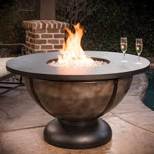 Fire Patio Table by Outdoor Fire Pits And Fire Pit Designs