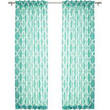 Moroccan Print Curtain Panels moroccan lattice curtain panels striking curtains ideas print slub