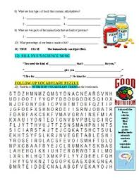 bill nye the science guy nutrition worksheet stinksnthings