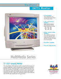 download free pdf for viewsonic ga771 monitor manual