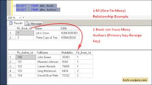 sql server create table primary key one to one one to many table relationships in sql server