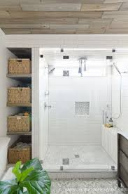Beautiful Bathrooms With Showers Beautiful Farmhouse Master Bathroom Remodel