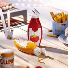 cuisine haba haba biofino mustard ketchup bottles tumble beans cafe play