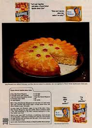 bisquick blue bonnet peach upside down cake bisquick peach and cake