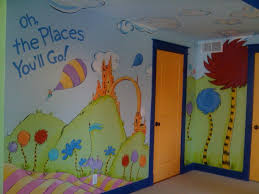 best 25 playroom mural ideas on pinterest kids wall murals dr seuss mural