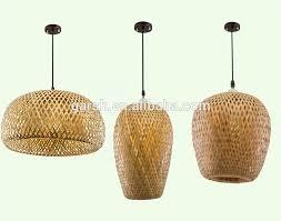 Wicker Pendant Light Modern Handmade Rattan Bamboo Pendant L View Handmade Pendant