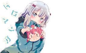 subaru and emilia wallpaper anime wallpapers eromanga sensei hd 4k download for mobile iphone