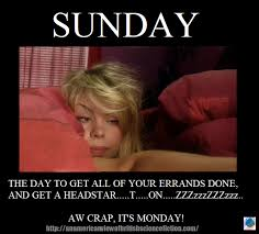 Sunday Meme - the monday meme sunday arcadia pod