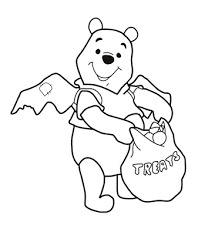 halloween coloring pages winnie pooh halloween coloring pages