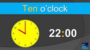 time teaching o u0027clock 24 hours youtube