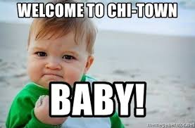 Baby Meme Fist - welcome to chi town baby fist pump baby meme generator