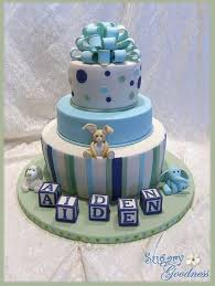 13 baby shower cakes designs
