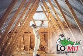 Heat Reflective Spray Paint - attic radiant heat barrier paint low cost attic cooling solutions