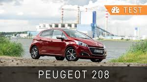 peugeot 209 peugeot 208 1 6 bluehdi 100 km allure 2015 test pl project