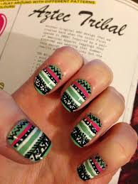 dahlia nails then and now wah aztec