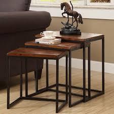 Nesting Desk Trent Austin Design Pemberton 3 Piece Nesting Table U0026 Reviews