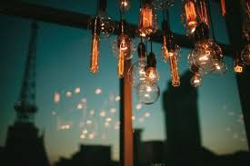Exposed Bulb Chandelier Bright Event Productions Exposed Bulb Chandelier Is A Big
