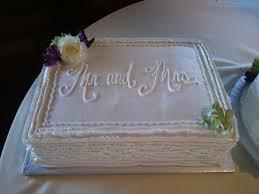 wedding sheet cake ribbon wedding sheet cake wedding cakes i ve made