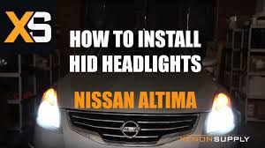2005 nissan murano xenon headlights 2011 nissan altima hid how to install hid xenon compatible with