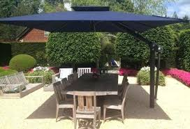 Patio Umbrella Cantilever Rectangle Patio Umbrella Treasure Garden X Cantilever Umbrella