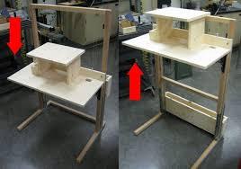 diy standing desk amazing diy standing desk with diy standing