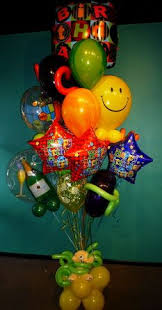 balloon deliver beautiful large birthday balloon bouquet delivery arrangement 110