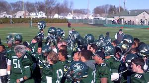 thanksgiving day football 2013 cranston east thunderbolts sing song after thanksgiving day