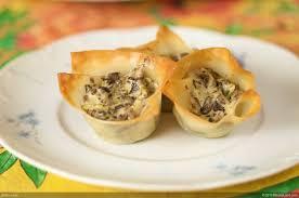 chevre and portabello mushroom tarts recipe