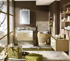 brown bathroom add green and light blue my little house of