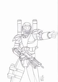 Clone Trooper Coloring Pages Coloring Page Inside Star Wars Wars Clone Coloring Pages