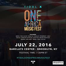 festival one africa music fest 2016 live stream by tidal