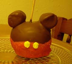 candy apple ideas for halloween caramel apple mickey mouse for halloween youtube