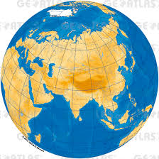 Asia Maps Geoatlas Globes Asia Map City Illustrator Fully Modifiable