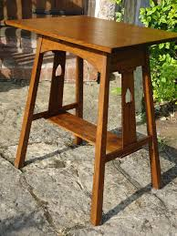 arts and crafts table for arts crafts liberty co side table antiques atlas